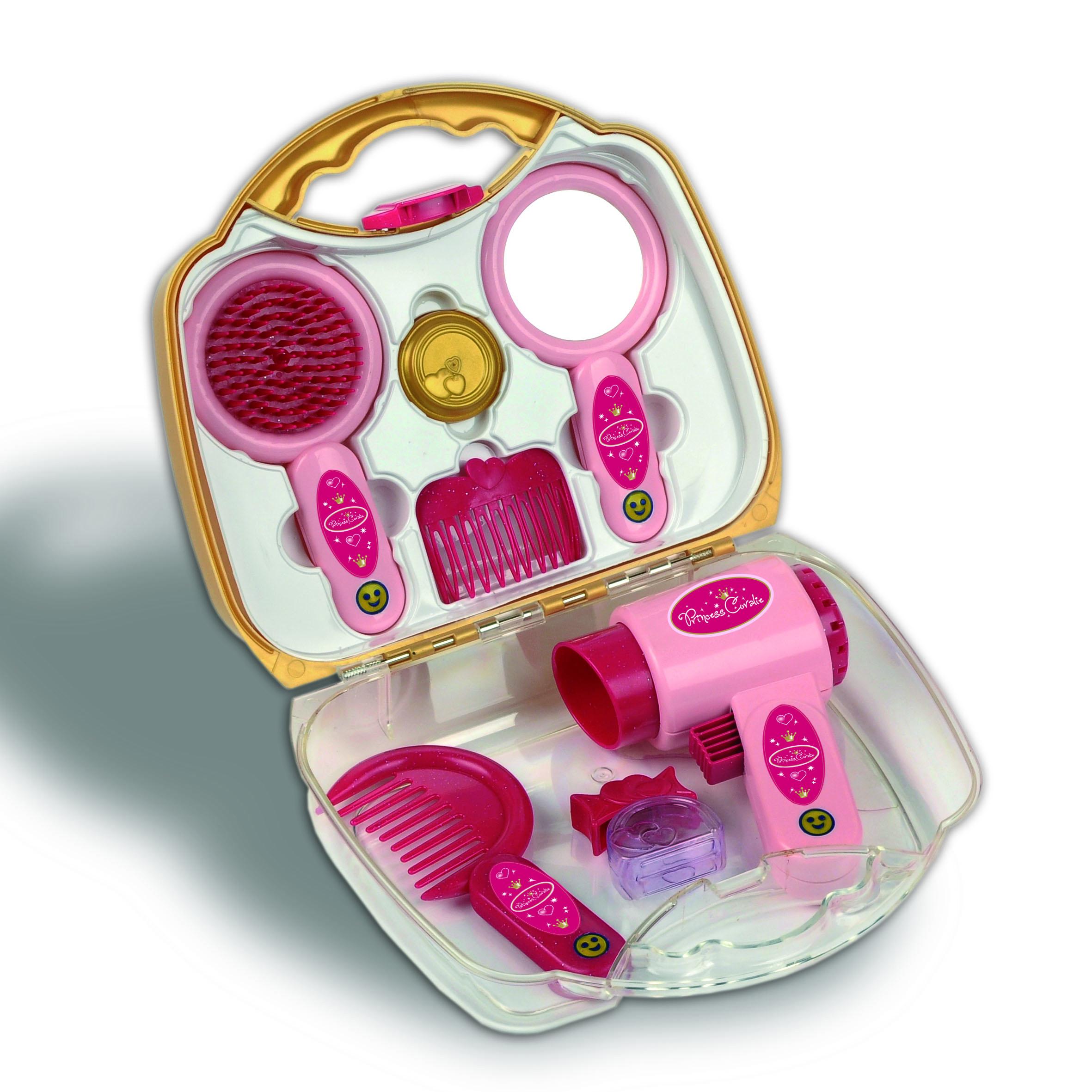 bf15782ceea98 Klein 5273 Zestaw fryzjerski w walizce Princess Coralie